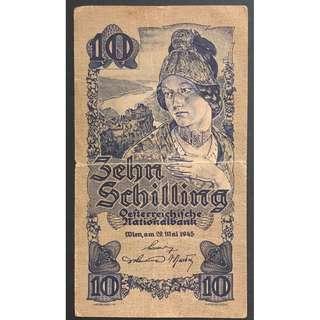 奧地利紙幣