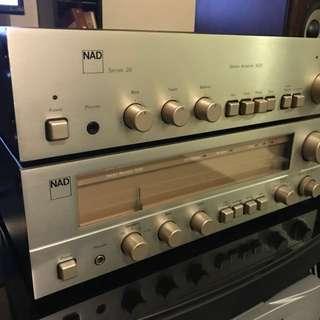 NAD 3020 Series 20 & NAD 7020 Receiver