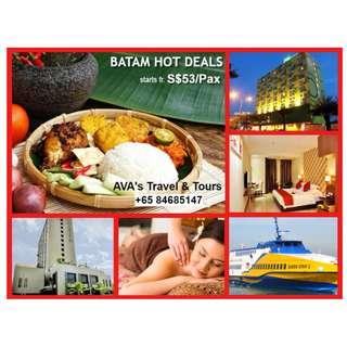 BATAM Hot Deals Promotion - 2D1N Tour