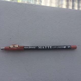 Matte Lip Liner Kiss Beauty 21