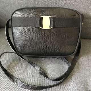 Ferragamo 蜥蝪皮 Vintage handbag