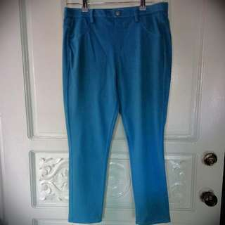 Uniqlo Blue Stretch Pants