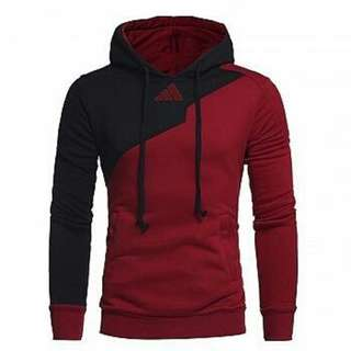 ao hoodie rudos maroon