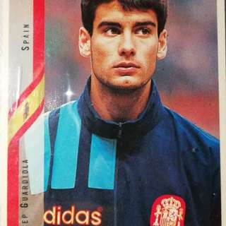 Guardiola upper deck world cup 94 card