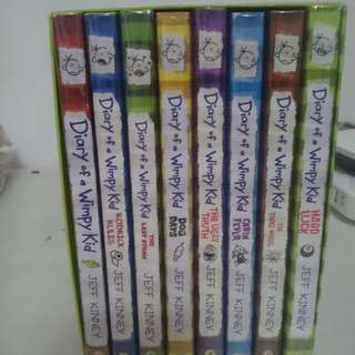 Diary of a Wimpy Kid Collection 1-8