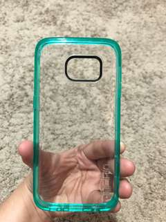 Incipio  Octane Pure Samsung Galaxy S7 case ,Translucent Co-Molded Case Wallet Polycarbonate Rigid Cover -Teal