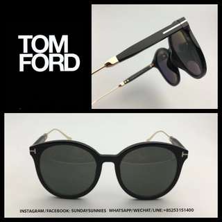 Tom Ford TF642k round Acetate sunglasses