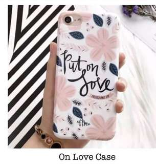 PUT ON LOVE CASE