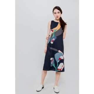 Watercolour Floral Midi Dress (love bonito similar)
