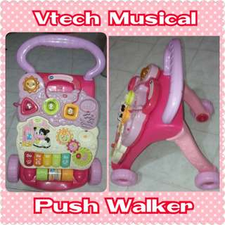 FREE Post Vtech Musical Push Walker