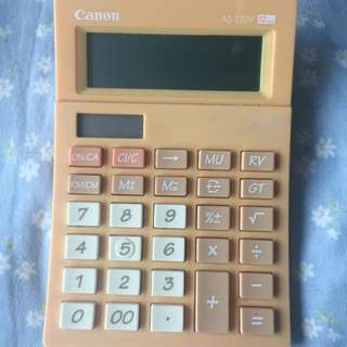 Canon Calculator Pastel Orange