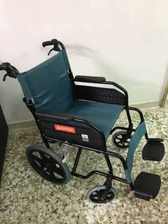 Almost New - Foldable Wheelchair