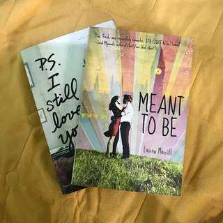 PS I STILL LOVE YOU & MEANT TO BE BOOK BUNDLE
