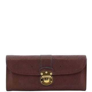 Authentic Louis Vuitton Iris Mahina Wallet