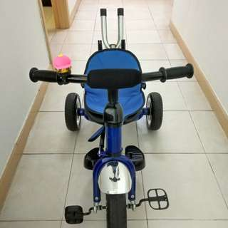 Tricycle with Parent Handlebar