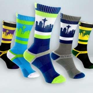 🚚 Strideline sport sock crew length