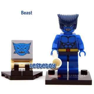 [LESTE] Marvel X-Men The Beast Minifigure
