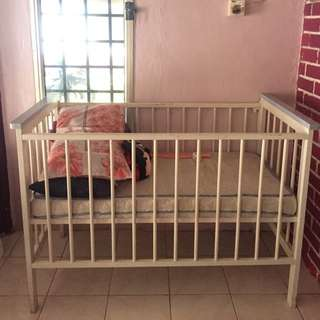 Baby Cot Wooden/ Katil Kayu Baby