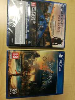 Assassin's Creed Origins PS4 (new sealed