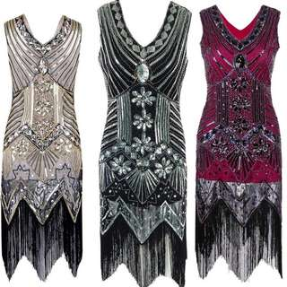 Gatsby Theme Dress/Gown - Style G