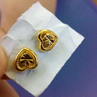 10k Saudi Gold Earings