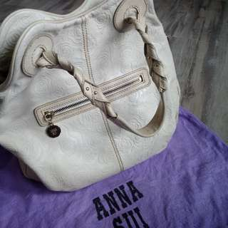 Authentic Anna Sui Hand Bag with signature Roses