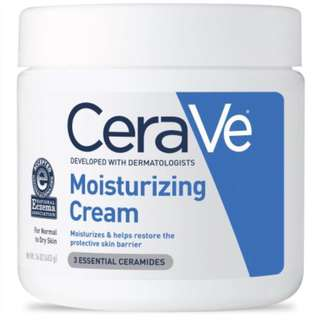 Instock Cerave Moisturizing Cream For Normal to Dry Skin 16oz 453g