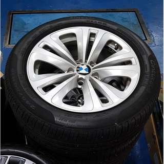 "18"" BMW rims for 7 Series with 245/50/18 Pirelli P7 Cinturato RFT Run-Flat tyres"