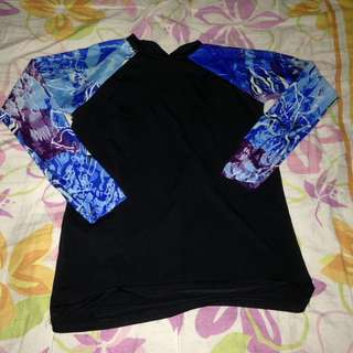 Women's Rash Guard for Swimming