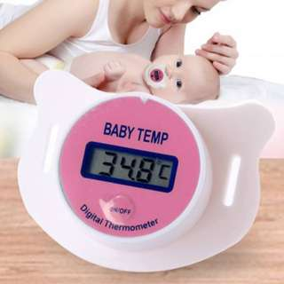 Thermometer Baby Pacifier