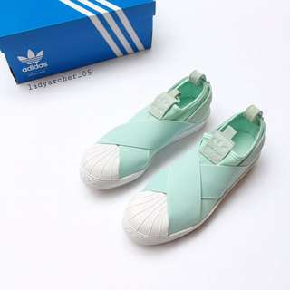 New Authentic Adidas Superstar Slip-on Shoes