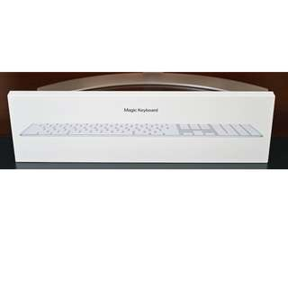 Apple Magic Keyboard 2 with Numeric Keypad  (Brand new)