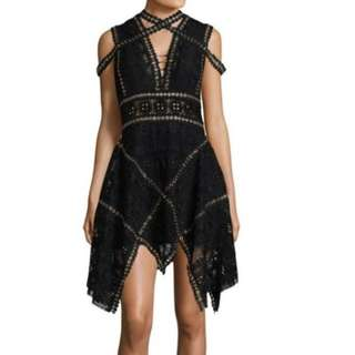 Ladies - Runway Inspired Lace Dress L1723