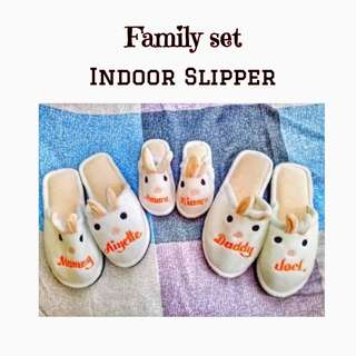 Family Indoor slippers
