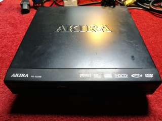 Akira DVD Player in working condition without controller.