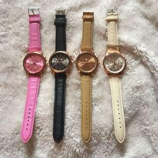 •BrandNew• Cute Leather Women's Watch