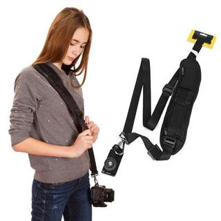 Pxel AACS1 Black Single Quick Release Camera Shoulder Neck Strap Sling