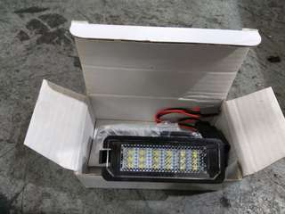 Volkswagen car plate led