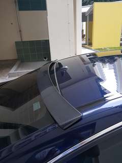 W204 C Class Sedan - Carbon Fibre Roof Spoiler 2007-2014