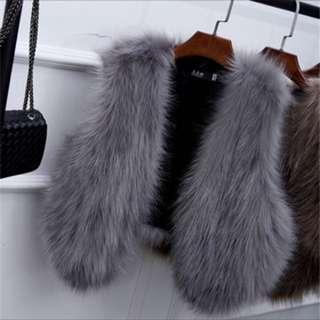 ❤️Preorder❤️ fur coat , fur vest