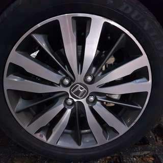 "Honda Jazz GK5 Original Enkei 16"" Rims"