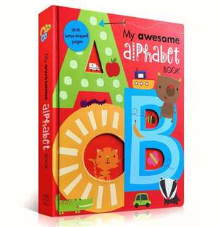 My Awesome Alphabet Book 我的尖叫字母书📖