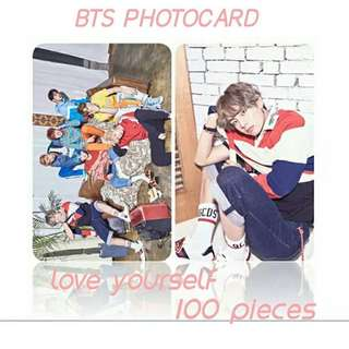 523 BTS LOVE YOURSELF PHOTOCARD 💫 (100 PIECES)