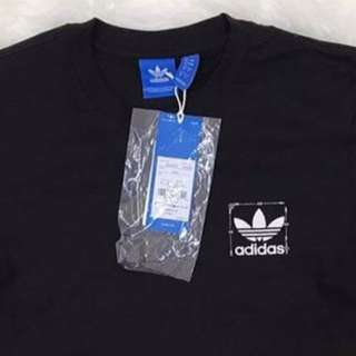 Adidas Trefoil Scaled Tee (Black), Authentic