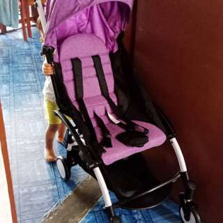 Purple Laptop Stroller