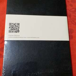 Moleskin note book (sealed)