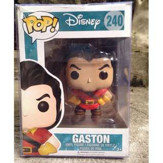 GASTON Beauty and the Beast Funko POP Viny;