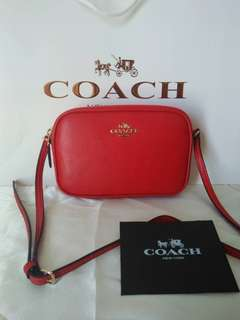 Sale!! Coach double zip sling bag