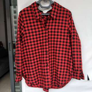 Checkered Ladies Top