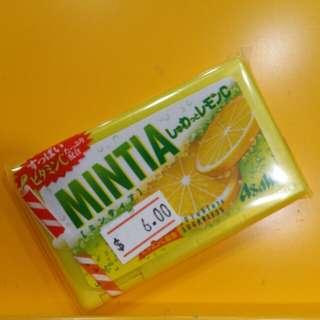 【Asahi】Mintia Sugarless 檸檬味 50粒